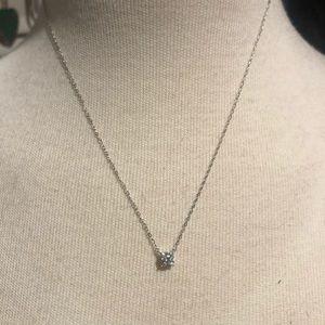 NADRI Solitaire Rhinestone Necklace